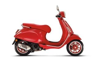 VESPA 125 PRIMAVERA (RED) E5